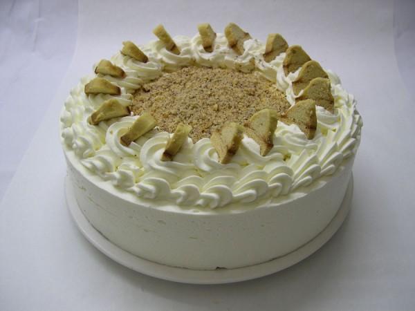 Baumkuchen-Cognac-Torte